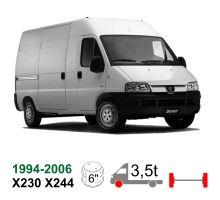 Vzduchové pérování Peugeot Boxer Euro Chassis X230/X244, 94-06