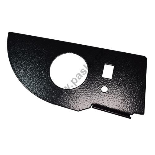 Držák manometru single PSA 50mm, lak-černý kladívkový