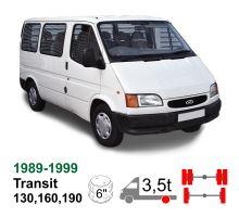 Vzduchové pérování Ford Transit 130/160/190, 89-99, zadní náprava kulatá, bez torzní tyče