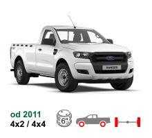 Vzduchové pérování Ford Ranger, 4x2/4x4, 2011-*
