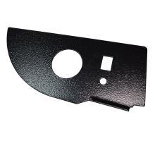 Držák manometru single PSA 40mm, lak-černý kladívkový