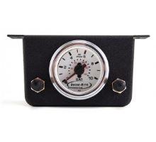Měřák tlaku - manometr se 2 vstupy a kontrolkami