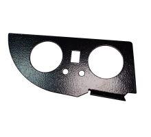 Držák manometru double PSA 50mm, lak-černý kladívkový