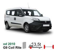 Vzduchové pérování Fiat Doblo 10-*, coil rite kit