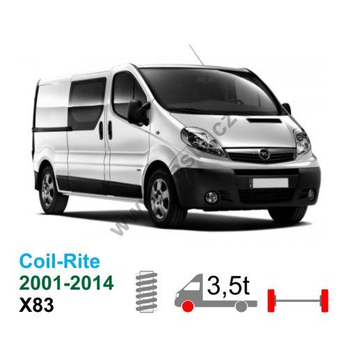 Vzduchové pérování Opel Vivaro X83, 01-14, coil rite kit